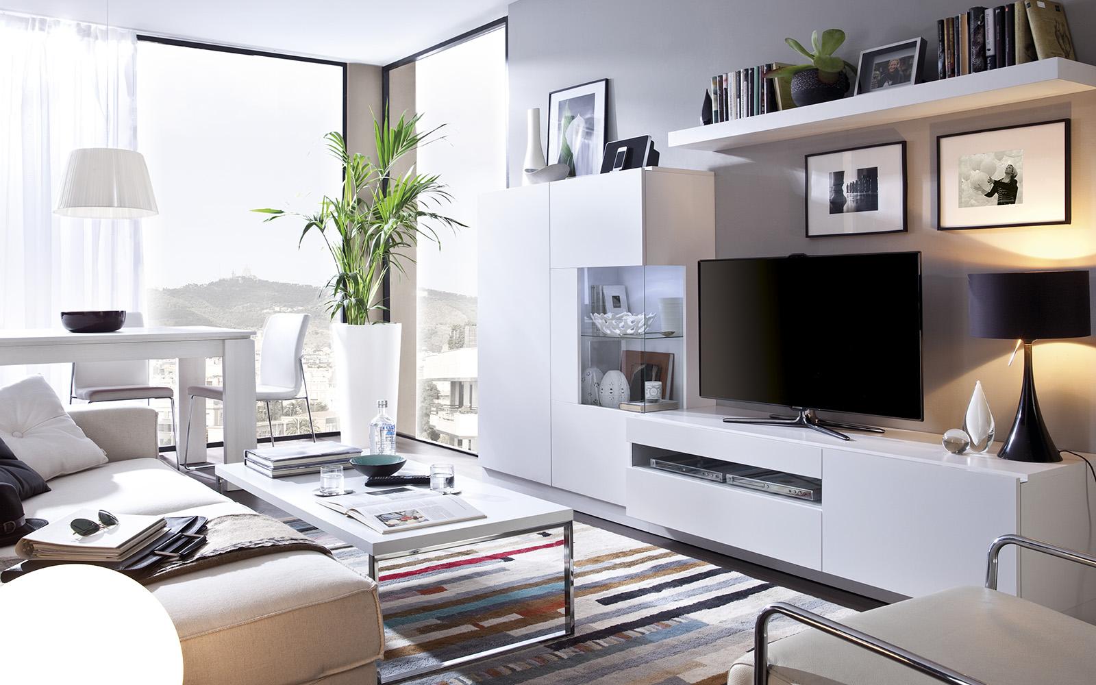 Tatat muebles a medida y m s expertos en mueble juvenil for Salon comedor minimalista