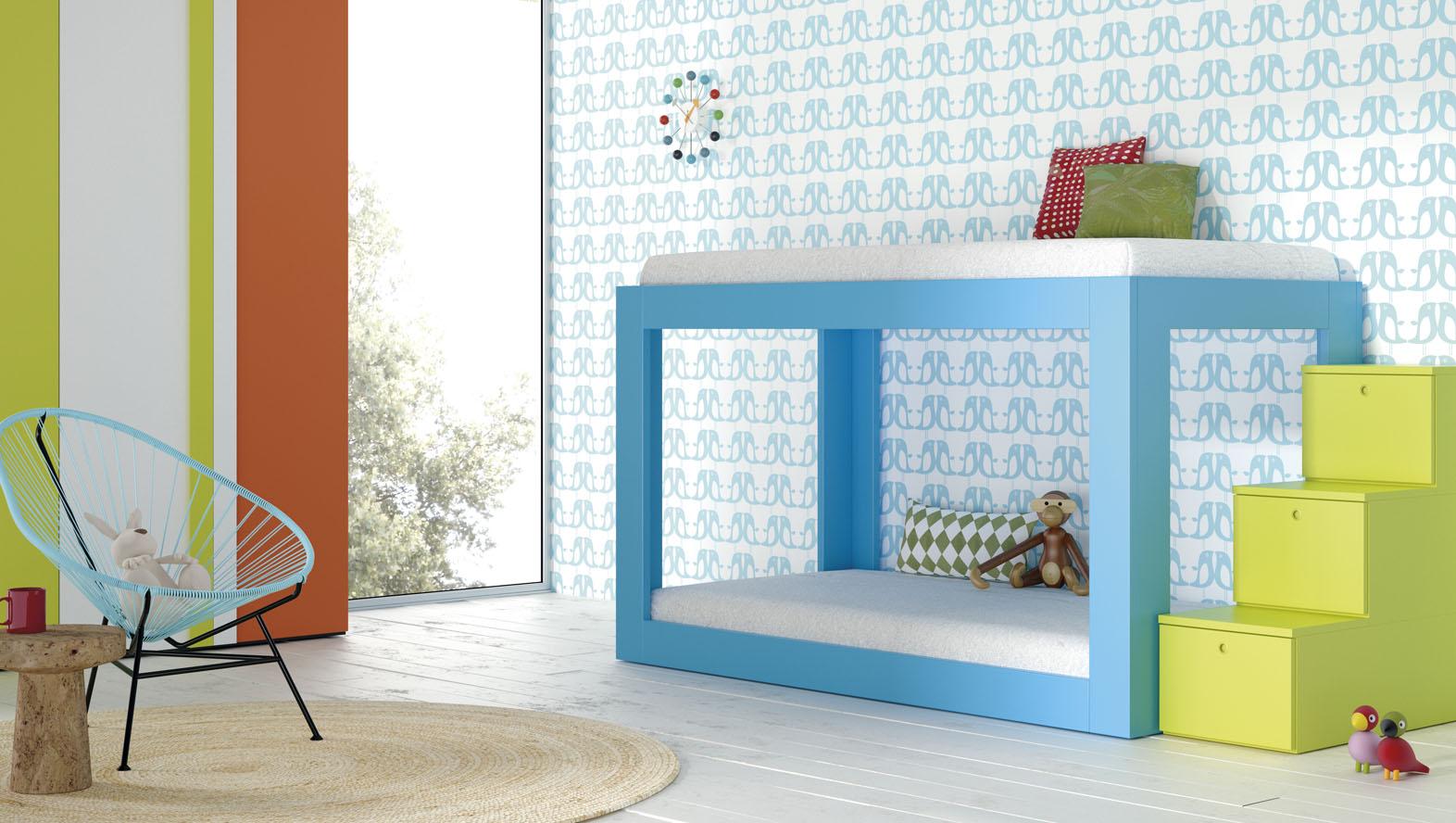 Tatat muebles a medida y m s expertos en mueble juvenil - Dormitorios con literas para ninos ...