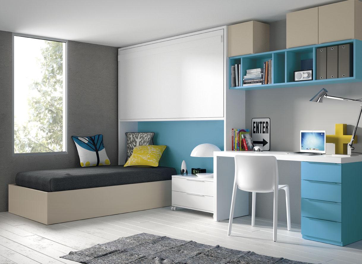 Tatat mobles a mida i m s experts en moble juvenil - Habitaciones juveniles camas abatibles horizontales ...