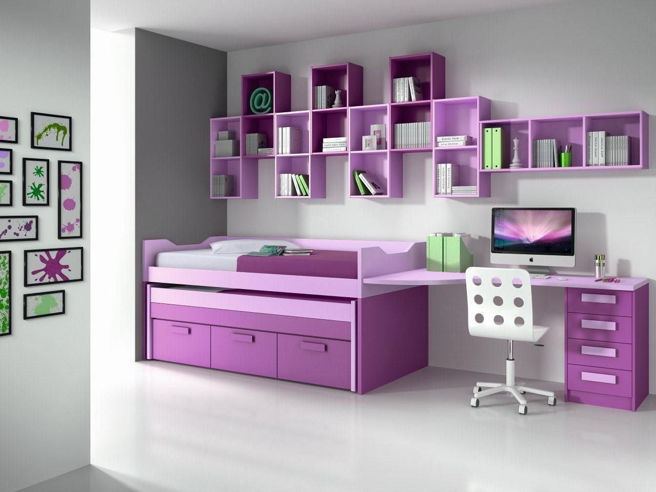 Dormitorios juveniles for Muebles juveniles para espacios reducidos